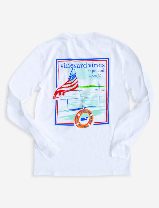 Vineyard Vines Cape Cod Views Tee