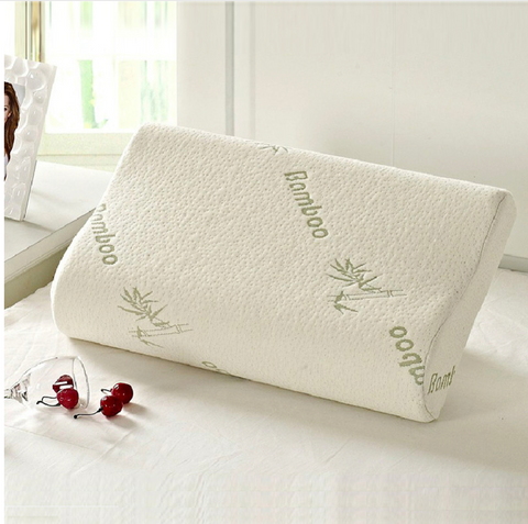 White Bamboo Memory Foam Pillow