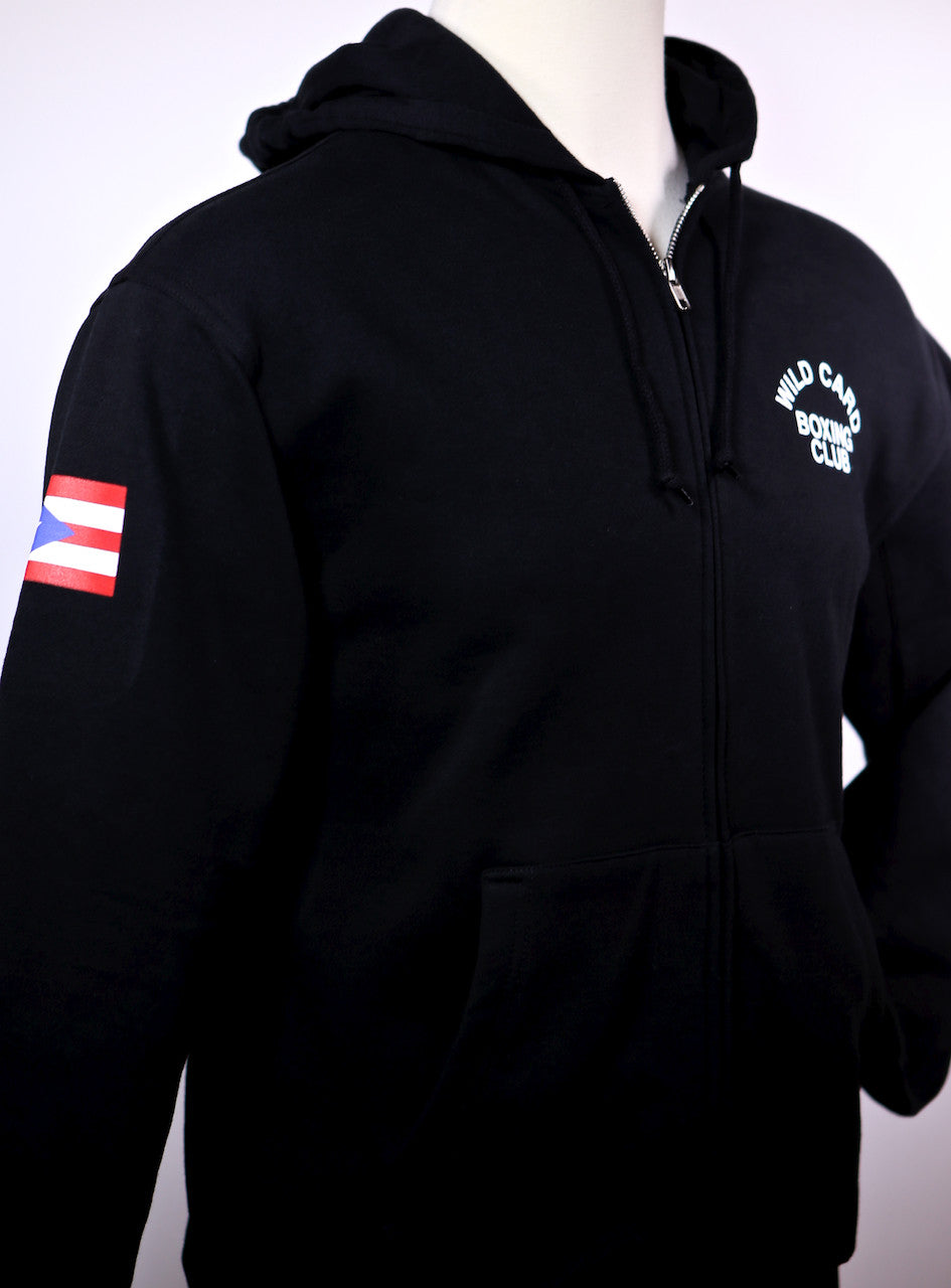 **SALE**Miguel Cotto/Wild Card Boxing Team Hoodie - Black