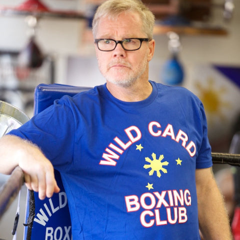 Wild Card Boxing Club Philippines TShirt - Blue