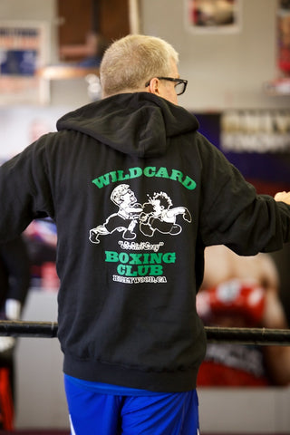 **SALE**Original Wild Card Boxing Club Hoodie - Black/Green