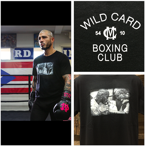 Miguel Cotto Wild Card Boxing Photo T-Shirt
