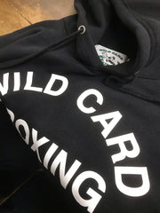 **New** Old School Wild Card Boxing Hoodie-FREE Wild Card towel with hoodie purchase online only