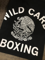 **New** Wild Card Boxing Mexico TShirt - Black/White