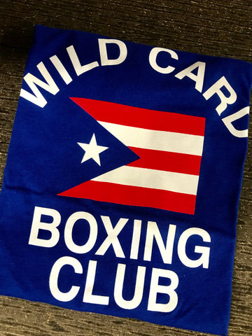 KIDS Wild Card Boxing Club Puerto Rico TShirt - Blue