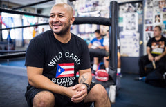 Wild Card Boxing Club Puerto Rico TShirt - Black
