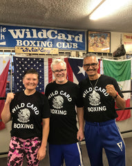 Wild Card Boxing Mexico TShirt - Black/White