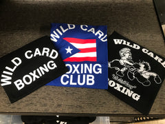 KID'S Wild Card Boxing Club Puerto Rico TShirt - Blue