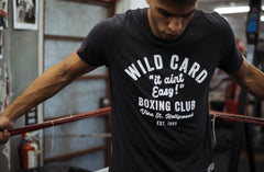 "**NEW** ""It Ain't Easy!"" Wild Card Boxing x Superare TShirt"