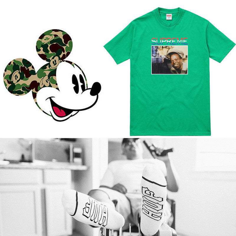 Junes Streetwear Collaborations Including; Supreme, Bape, Huf and FTP