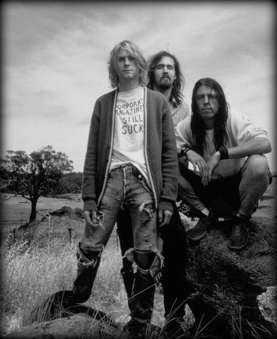Grunge Era Fashion with Nirvana