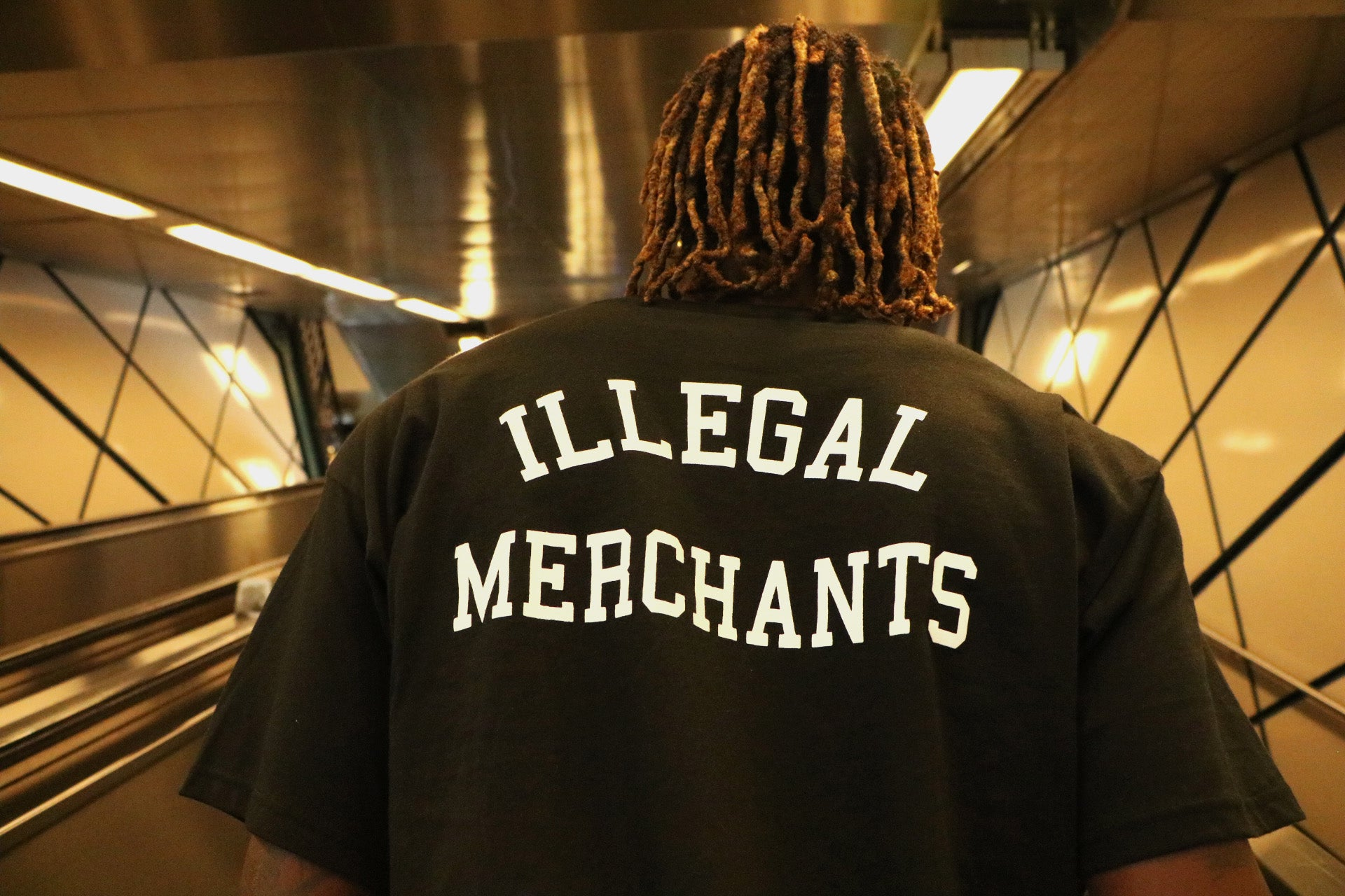Illegal Merchants Tee V4NY  FTP Streetwear