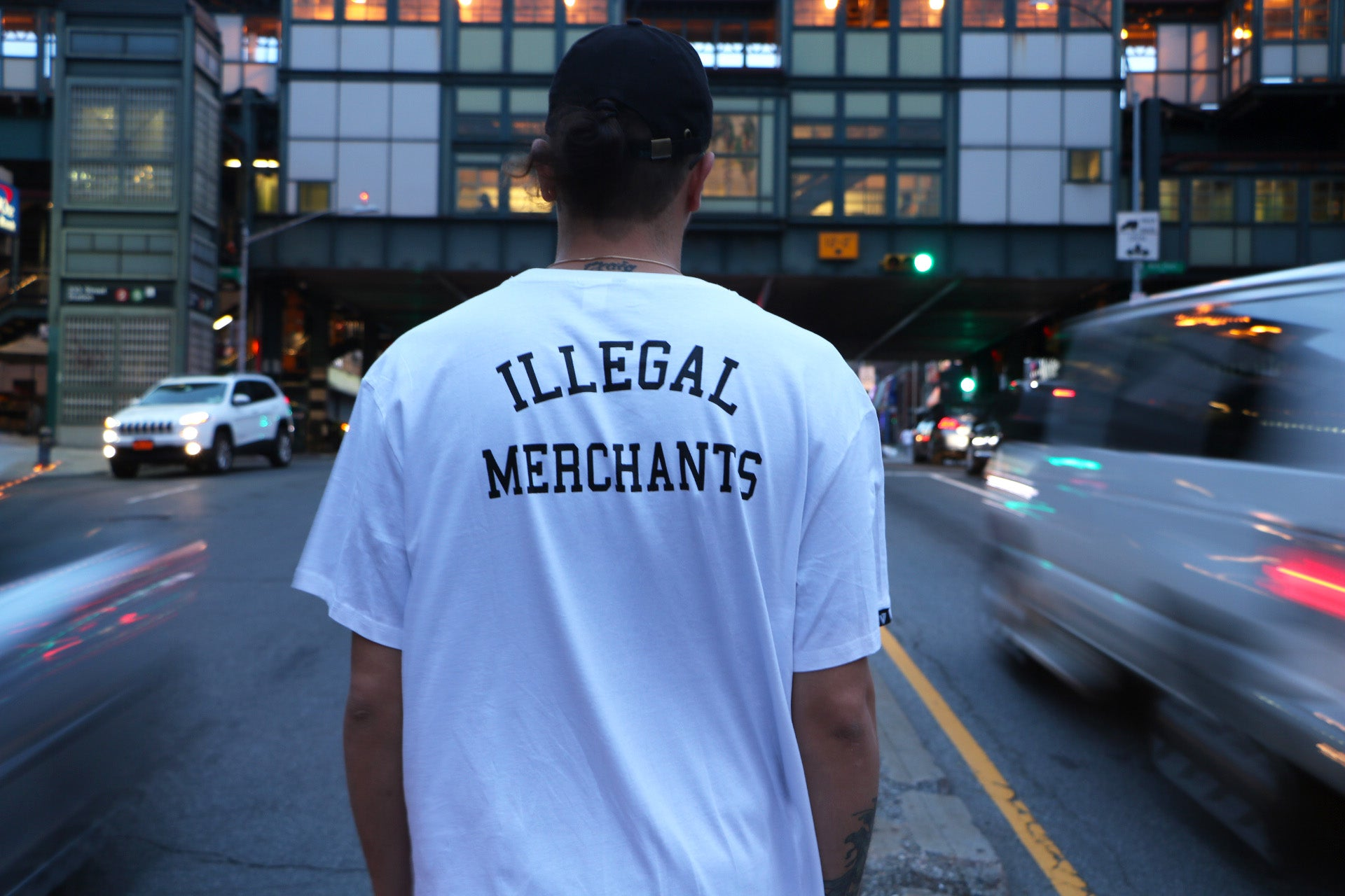 Illegal Merchants Tee from V4 New York Blog Supreme Palace