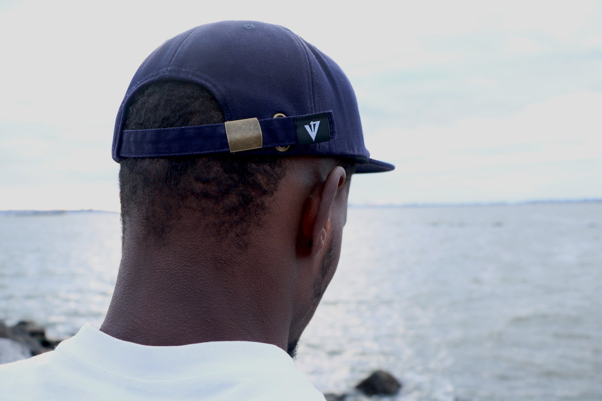 V4 New York Smugglers United Hat in Navy V4NY