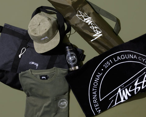 Stussy's Summer Trip Festival Collection and Collaboration with Klean Kanteen