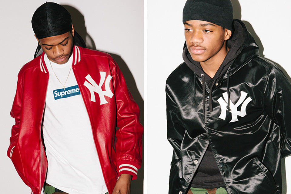 Supreme x New York Yankees