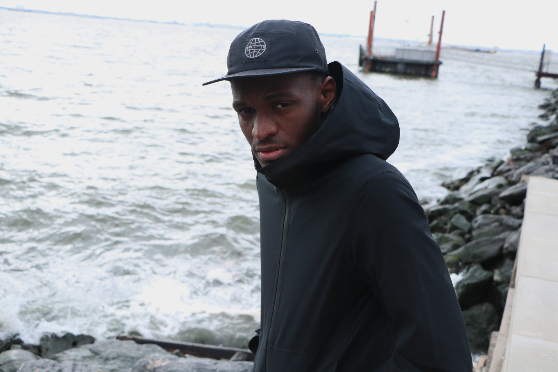V4 New York's V4GBL Water Resistant Camp Hat