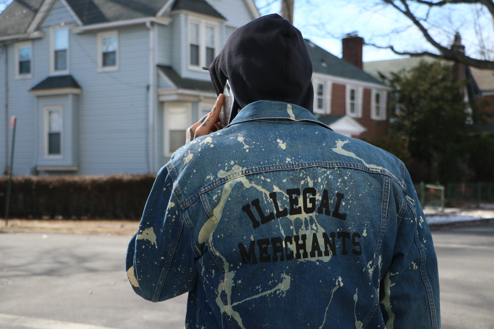 V4NY Illegal Merchants Denim Jacket