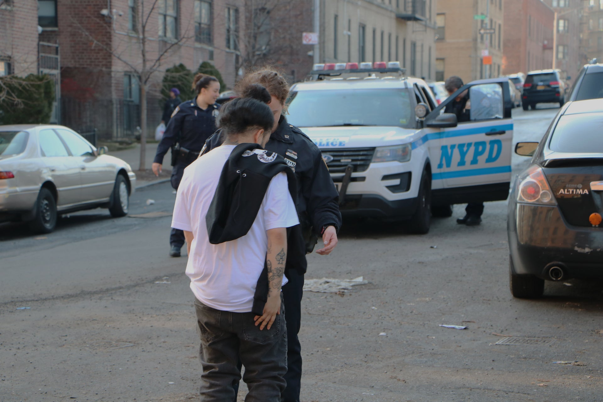 V4NY NYPD Harassment During Photoshoot in The Bronx