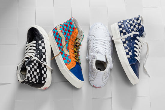 Vans Spring 2016 Vault Line Checkerboard Past Collection