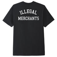 Illegal Merchants Black V4NY Tee
