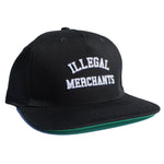 V4 New York Illegal Merchants Black Snapback
