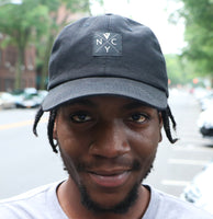 V4 New York NYC Hardcore Cap Black (Front)