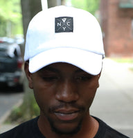 V4 New York NYC Hardcore Cap White (Front)