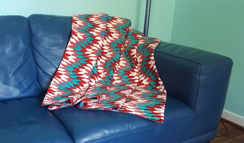 African Throw Cover - Large