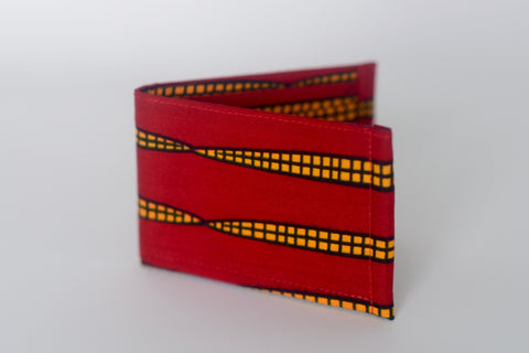 Ozae (Bow Tie) - Red/Yellow