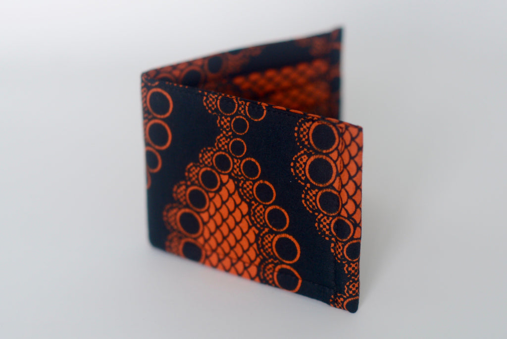 Ekpa (Wallet) - Black/Orange