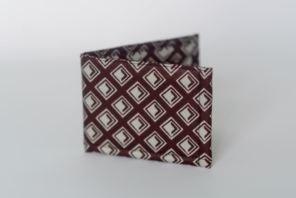 Ekpa (Wallet) - Brown/Cream