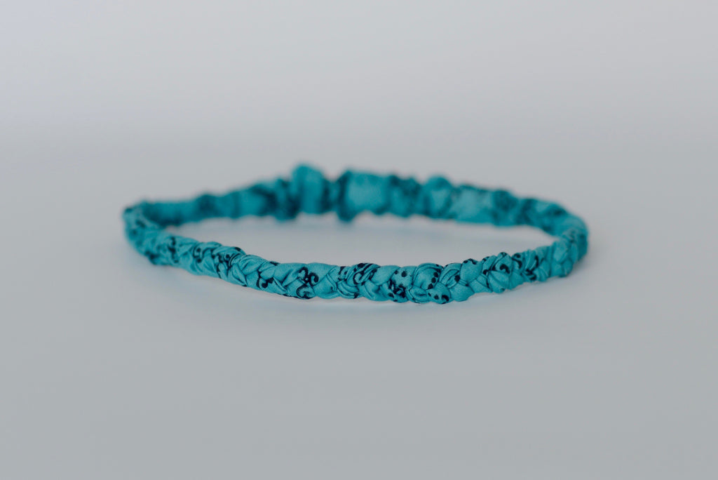 Braided Headband - Teal