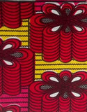African throw cover - Medium