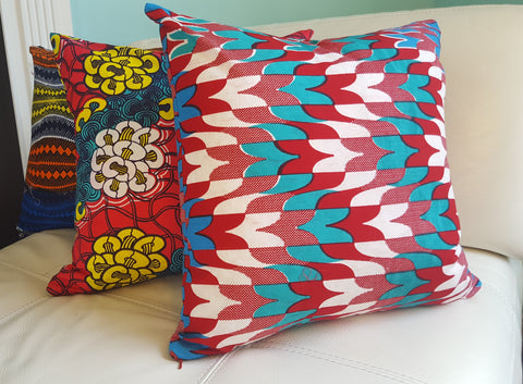 "Decorative Pillow Cover 18"" with insert"