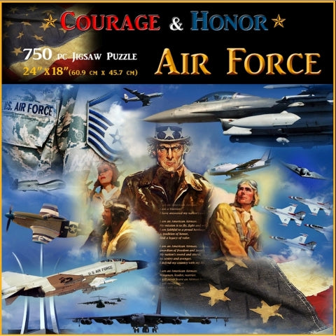 Air Force Puzzle (031615-93473-A)