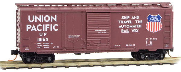 40' Plug & Sliding Door Boxcar - Ready to Run  (489-02200191)