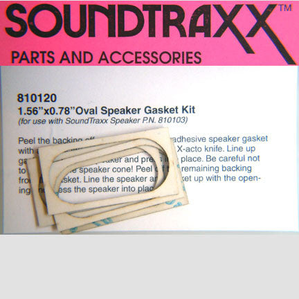 SoundTraxx 20x40mm Oval Speaker Gasket Kit (4 pack) (810120)