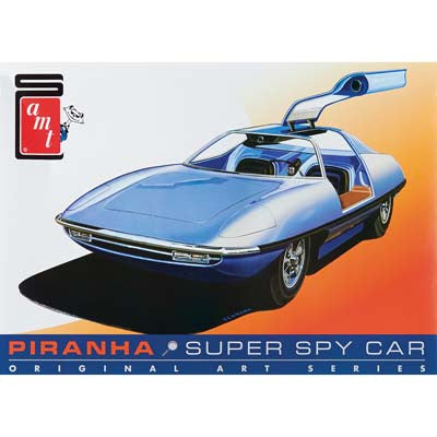 AMT 1/25 Piranha Spy Car Original Art Series (AMT916)