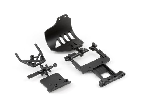 ARRMA Bumper Rear Chassis Plate Set Front (AR320004)
