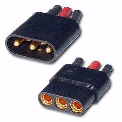 Astro 3 Pin Zero Loss Connector 2-pack #521 (AST521)