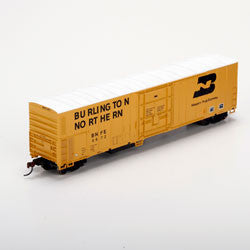 Athearn HO RTR 57' Mechanical Reefer, BN/Yellow #967 (ATH71447)