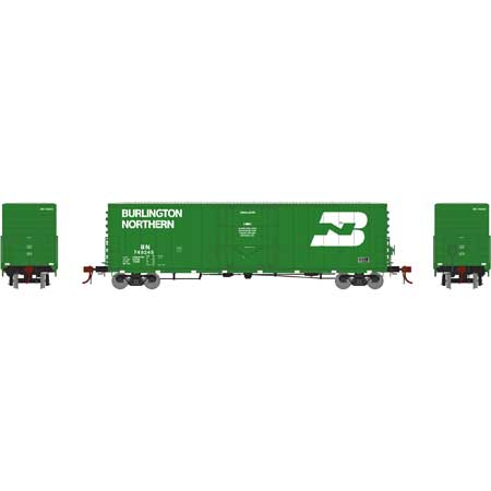 "Athearn HO 50' PC&F Welded Box w/10'6"" Door, BN #749245 [ATHG26777]"
