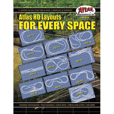 Atlas HO Layouts For Every Space  (ATL11)