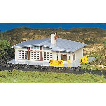 BACHMANN Gas Station Built-Up N (BAC45904)