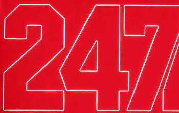 "NUMBERS RED 2"" (COVQ3220)"