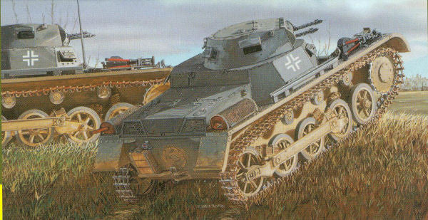 Dragon Pz.Kpfw.I Ausf.A 4.Serie/La.S -- Plastic Model Tank Kit -- 1/35 Scale  (DML6451)