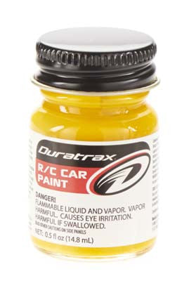 Duratrax Polycarb Bright Yellow .5 oz (DTXR4085)