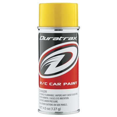 Duratrax Polycarb Spray Candy Yellow 4.5oz (DTXPC295)