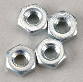 DUBRO HEX NUT 2.5MM (4) (DUB2104)